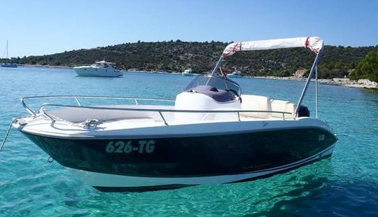 An Amazing Rental Experience In Trogir, Croatia On Sessa Key Largo One Center Console