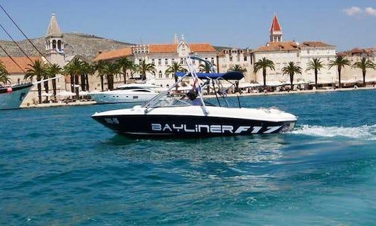 Rent The Bayliner 175 Flight Bowrider In Trogir, Croatia