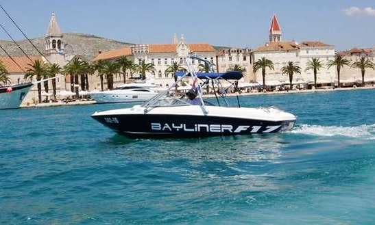 Rent The Bayliner 175 Flight Bowrider In Trogir