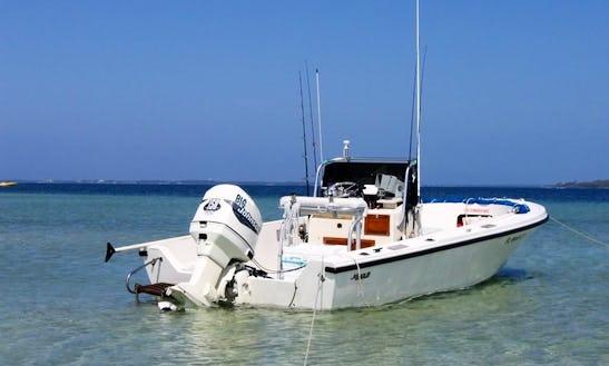 Fishing Charter On 19' Mako In Punta Cana, Dominican Republic