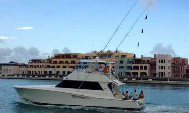 """53ft """"Emily"""" Viking Fishing Charter In Punta Cana, Dominican Republic"""