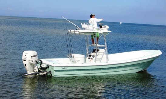 Fishing Charter On 26ft Andros Tarpon Boat In Tampa, Florida