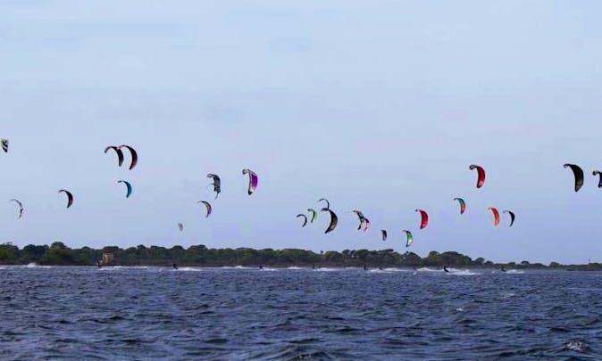 Kitesurfing/Kiteboarding Lessons in Marsala, Italy