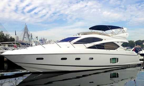 Manhattan 60 Motor Yacht For Hire With Captain In Šibenik, Croatia