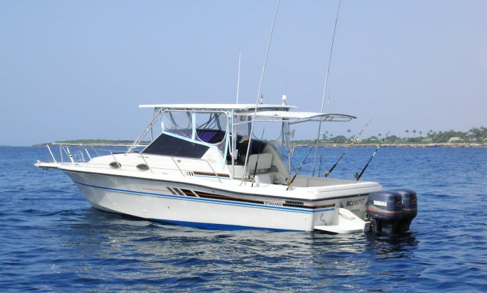 "30ft ""Scorpio"" Stamas Fishing Charter In La Romana, Dominican Republic"