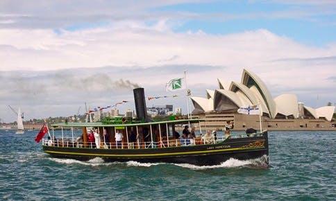 "Charter 1902 ""Lady Hopetoun"" Passenger Boat in Sydney, Australia"