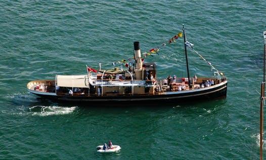 """Steam Tug """"Waratah"""" Passenger Boat Charter in Sydney, Australia"""