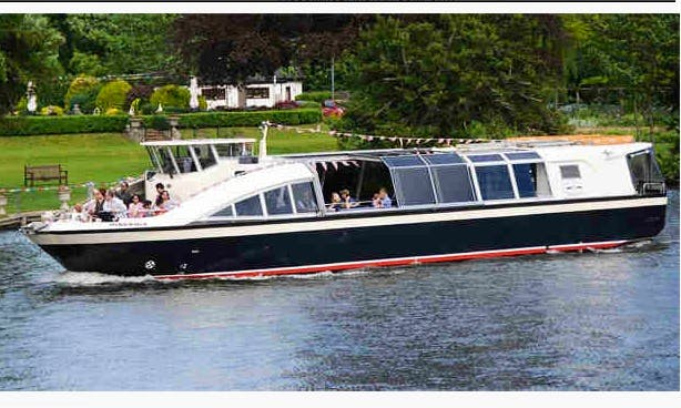 "Charter on 58ft ""The Hibernia"" Passenger Boat in Henley-on-Thames, England"