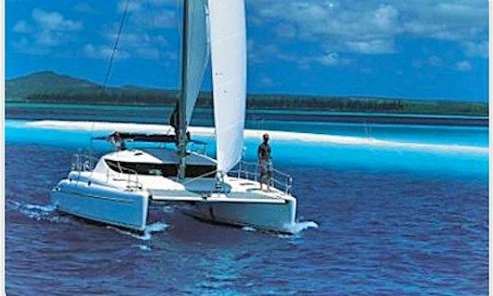 Lagoon Athena 380'04 Beach Catamaran Charter In Sant Antoni De Portmany