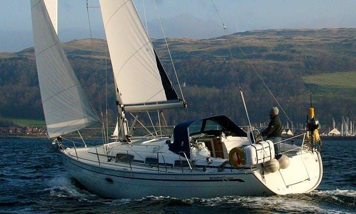 Charter Bavaria 35 Cruiser Sailboat in Largs, Scotland