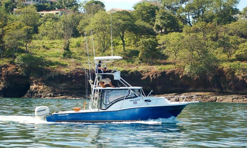"Sportfishing Trips & Tours on ""Cala Luna"" in Costa Rica"