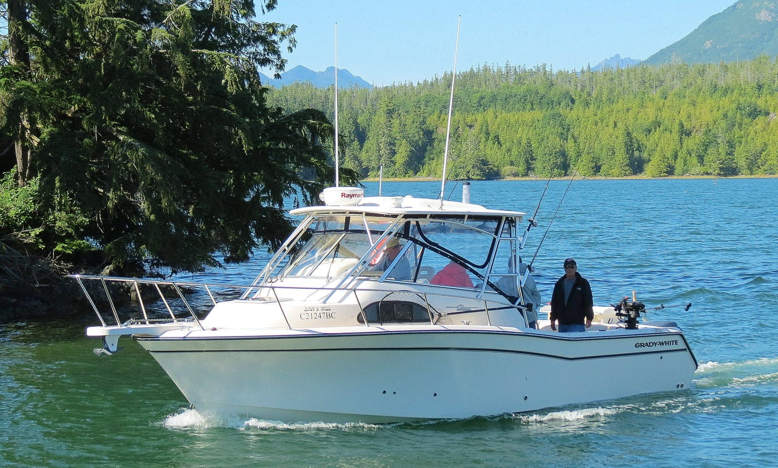 Wild Pacific Charters Ucluelet BC Canada