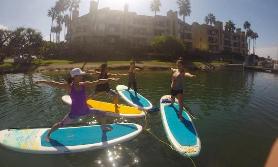 Paddle Board Classes & Yoga In Huntington Beach & Redondo Beach