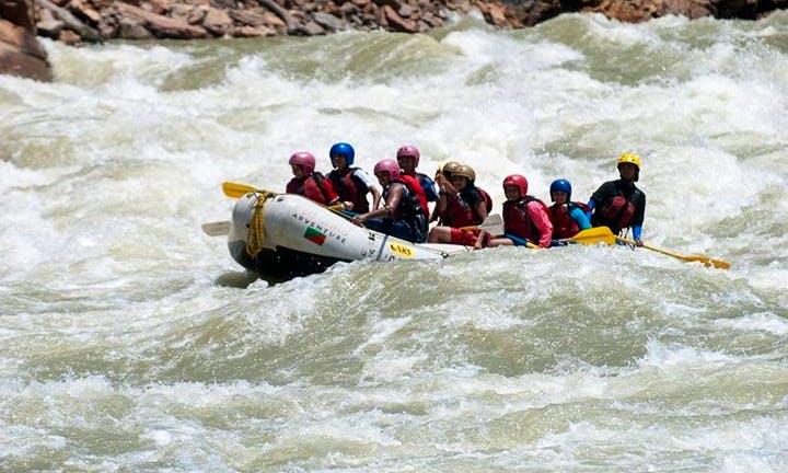 Whitewater Rafting Trip on Ganga River in Rishikesh