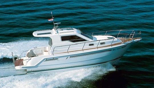 Croatia Charter 31' Motor Yacht In Biograd Na Moru