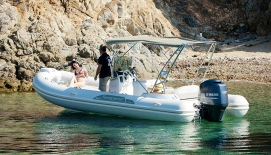 Rent A 9 Person Capelli Tempest 650 Semi-rigid Inflatable Boat In Nice, France