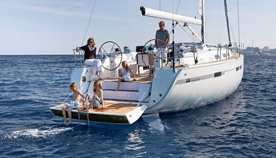 Charter Bavaria 45 Cruiser Sailboat In Šibenik