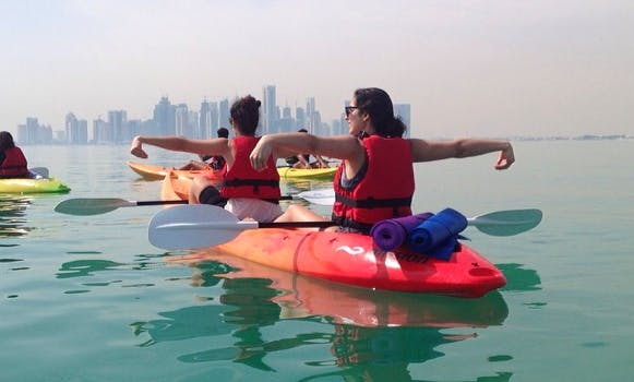 Paddleboard/Kayak 8 week Fitness Class in Doha