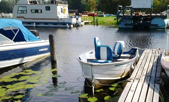 16' Aluminum Boat Rental On Lake Nipissing, Ontario