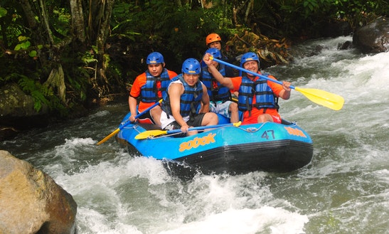Telaga Waja River Rafting In Indonesia