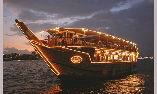 Dhow Drink  & Dinner Cruise In Dubai