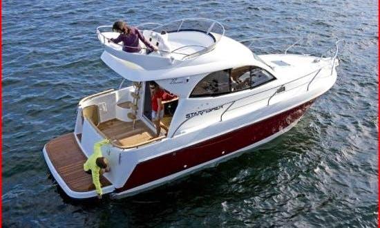 Starfisher 27' Motor Yacht Charter in Furnari, Sicily