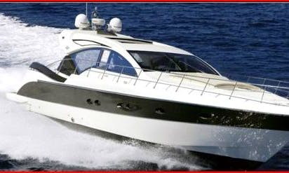 Amada 55 Motor Yacht Rental in Furnari