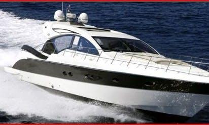 Amada 55 Motor Yacht Rental in Furnari