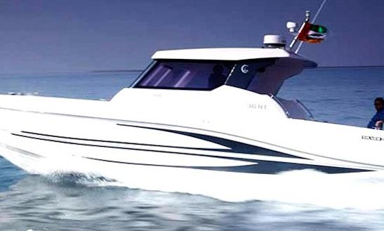 Fishing Charter On 37' Sports Fisherman Boat In Dubai, Uae