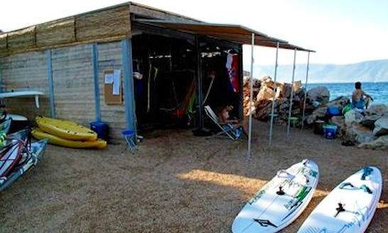 Windsurf Lessons Ans Kayak Rental In Vrboska