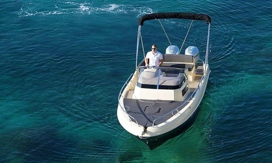Atlantic Sun Cruiser 815 Deck Boat Charter In Croatia