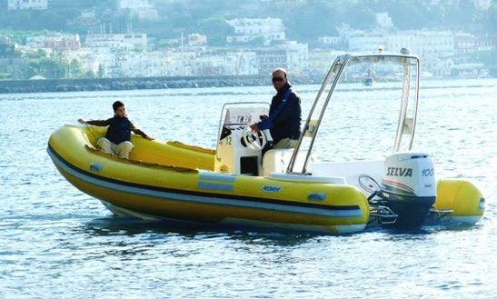 6m Predator Raft Rental In Capri