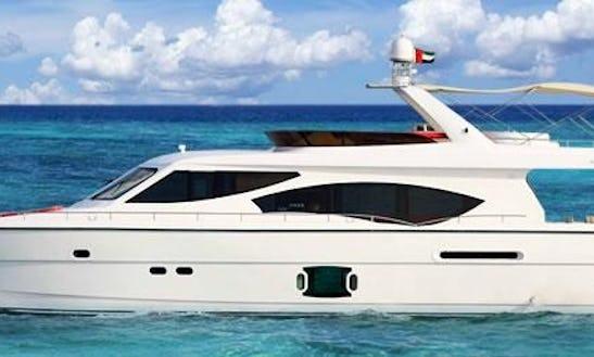 Charter The Duretti 85 Power Yacht In Dubai, Uae