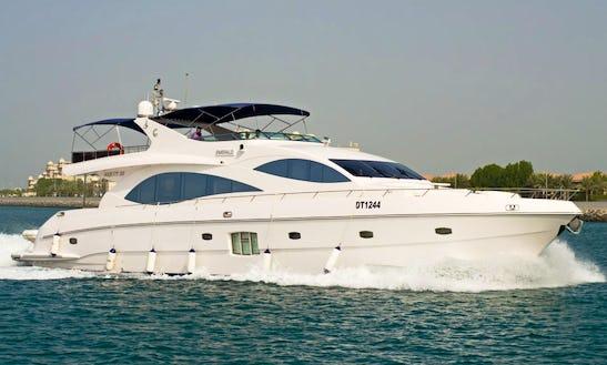 Charter Majesty 88 Power Yacht In Dubai, Uae
