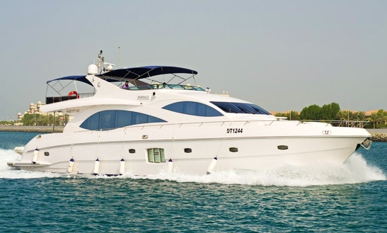 Charter Majesty 88 Power Yacht In Dubai, Uae