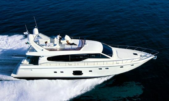 Charter 'ferretti 630' Motor Yacht In Cagliari