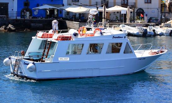 Island Tours And Fishing Chaters In Lipari