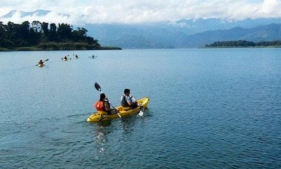 Kayak Tour On Arenal Lake Passenger Boat Taxi In Jaco