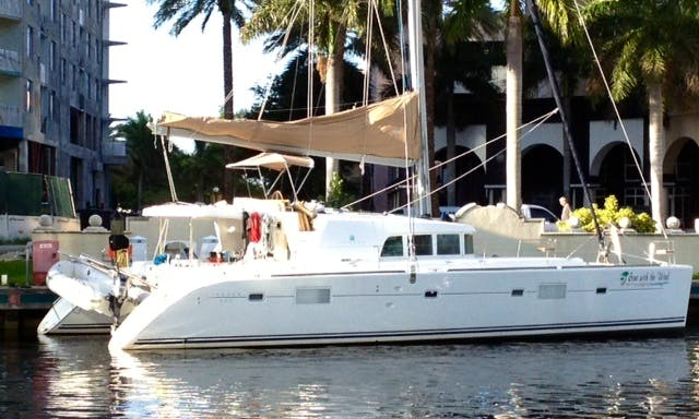 "Charter 51ft ""Gone With The Wind"" Lagoon 500 Sailing Catamaran in Key Largo, Florida"