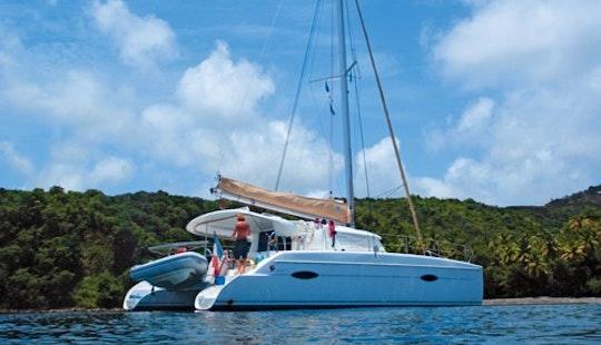 Cruising Catamaran Lipari41' Charter  In Le Marin