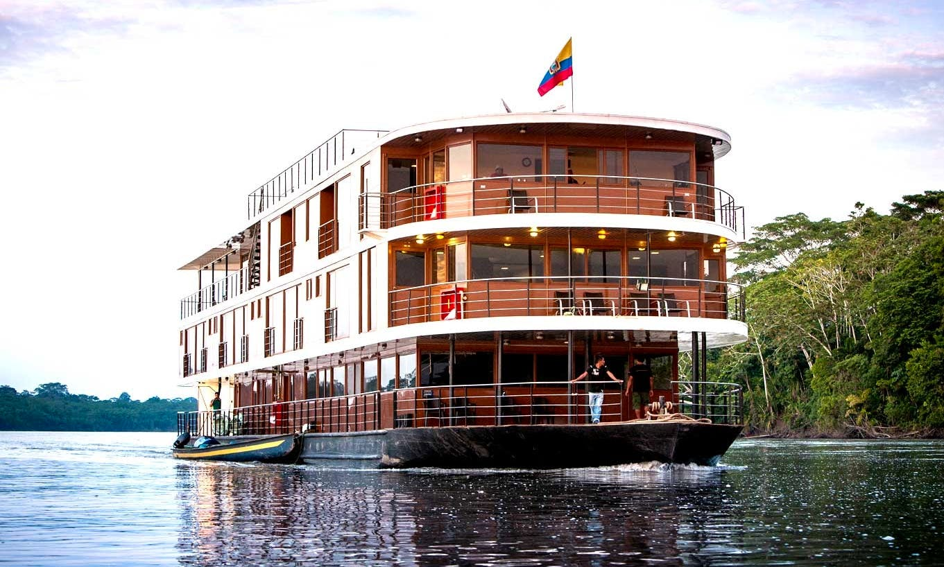 Anakonda Amazon River Cruise in Ecuador's Amazon Basin