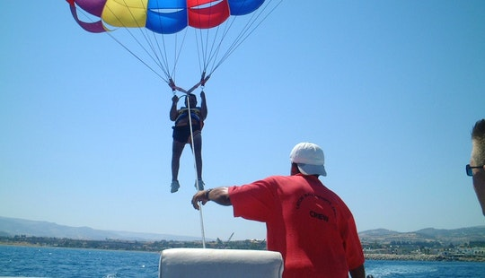 Parasailing In Cyprus, Poli Crysochous