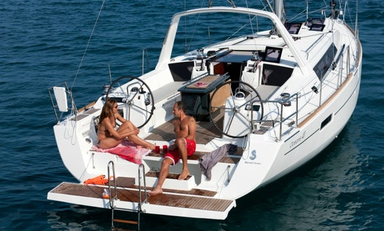 New Oceanis 41 Yacht Charter In Athens