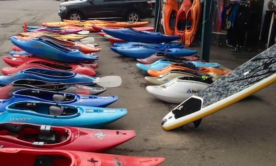 White Water Kayak Rental In Edwards, Colorado