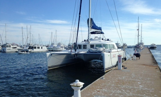 Enjoy 44' Cruising Catamaran For Rent In Ft Lauderdale