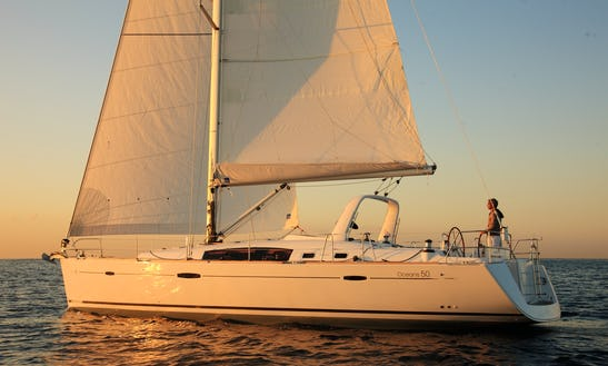 Oceanis 42.3 Charter In Athens