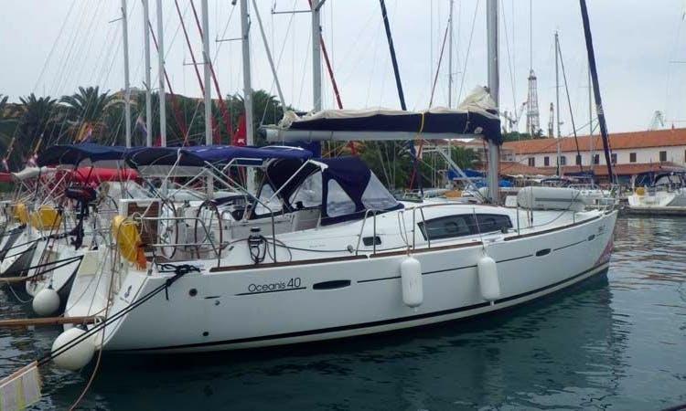 Joya Beneteau Oceanis 40 Monohull Charter in Yalikavak, Bodrum