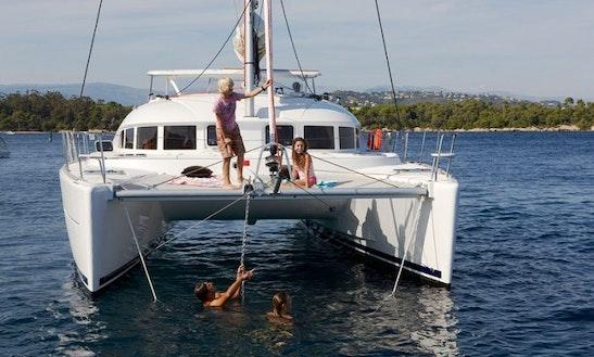 Gallifrey Lagoon 380 S2 Cruising Catamaran Charter In Yalikavak, Bodrum