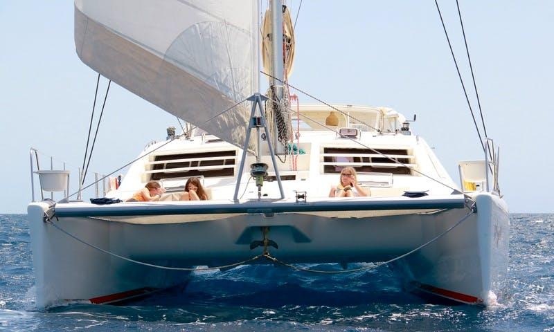 "Catamaran Charters on ""Cool Runnings"" in the British Virgin Islands, Tortola"