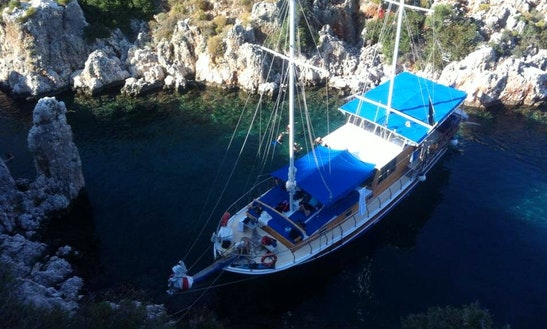 Gulet Tour Trips In Kas, Turkey
